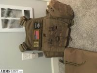 For Sale: Conder Plate carrier TAN