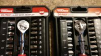 hyper tough 24 piece1/4 inch drive socket set