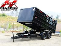 $5,300, 2018 Dump Trailer 8x12x4 Up Graded Available Now