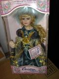 Porcelain Doll, Limited Edition Christina Collection