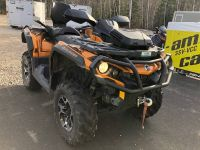 2016 Can-Am Outlander MAX Limited Utility ATVs Lancaster, NH