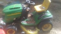 john Deere l120 20 horse Briggs v twin think needs motor 100 bucks