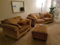 Sofa, loveseat & ottoman