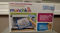 Munchkin Steam Guard Microwave Sterilizer Bags, 6 Pack, White (T=44)