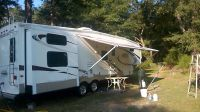 5th Wheel RV 35 foot, 4 slides, one and one half bath. Master bedroom queen, bunk house with 4 b...