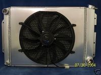 Purchase 1967 1968 1969 CAMARO ALUMINUM RADIATOR WITH FAN&SHROUD motorcycle in Mount Clemens, Michigan, US, for US $400.00