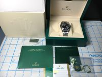 Rolex Oyster Perpetual 114300 Rhodium Face Box & Booklets 2017