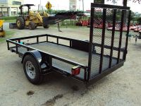 NEW 5x10 utility traler with r gate