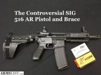 For Sale/Trade: Sig Gas piston AR15 pistol with extras