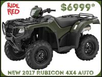 2017 Honda FourTrax Foreman Rubicon 4x4 DCT Utility ATVs Erie, PA