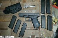For Sale: Glock 23 gen 4 .40 cal unfired, w/ xtra 9mm barrel