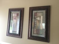 Two Tall Decor Frames