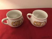 Pair of Houston Harvest Gift Products 4 Chili Bowls. EUC