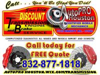 Transmission Service and Repair Houston TX