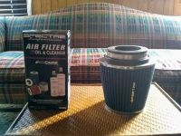 Spectre cold air intake filter and cleaner kit