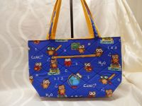 Christmas Sale- Quilted tote- perfect for teacher gift!