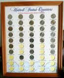 U.S. STATE QUARTERS IN FRAME