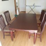 Kitchen table, with chairs