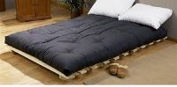 Queens futon mattress (black color)