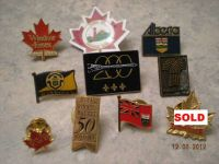 Various Collector Pins