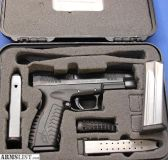 For Sale: SPRINGFIELD XD-M XDM-9 9mm w/BOX & 4 MAGS - NICE!