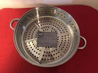 Simply Ming 14@ Stainless Steel Steamer. Got Damaged in Shipping (Photo Attached). Otherwise is New