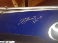 For Sale/Trade: Martin Truex Autographed Bumper - NASCAR Cup Series Champion