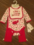 Baby s First Christmas Outfit NEW GIRLS