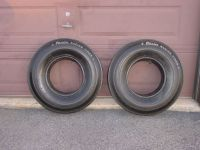 "Buy Vintage Original Casler 14"" Cheater Slicks Pr (2) Hot Rod Rat Rod Musclecar Tire motorcycle in Hamburg, Pennsylvania, United States"