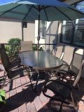 Lanai table and chairs