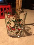 Special Holiday Cardinal glass