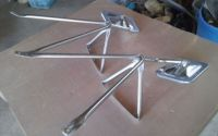 Buy 1973-1987 Chevrolet/ GMC truck camper special stainless mirrors motorcycle in Tucson, Arizona, United States