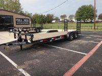2016 Pull Rite 18'+2' Wood Floor Car Hauler