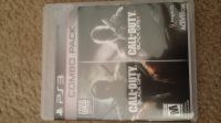 PS3 Call of Duty Black Ops 1& 2 (combo pack)