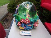 tinkerbell music globe-disney store-collectable
