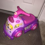 Musical Fisher Price little people ride on toy. Batteries included. In good condition. Porch pick up in White House within 48 hours