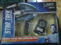 STAR TREK PHASER AND COMMUNICATOR