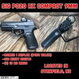For Sale: SIG SAUER P320RX COMP 9MM - ROMEO1 REFLEX SIGHT - NIGHT SIGHTS - FACTORY NEW