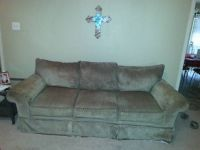 2 light Brown couches