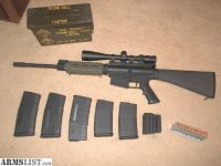 For Trade: DPMS LR-308, AR-10 MANY UPGRADES.. LOW ROUND COUNT! + 320 ROUNDS