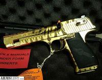 For Sale: Desert Eagle titanium gold tiger stripe 50AE