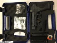 For Sale/Trade: Smith and Wesson MP9L CORE W/Flat faced Apex trigger