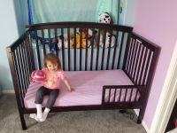 4 in 1 crib/bed