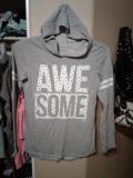 Justice size 14 like new so super cute Awesome Hoodie $6