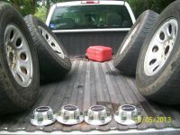 Chevy GMC 17in wheels tires