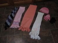 Scarves, Hats Gloves 25 cents Each!