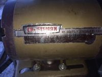 "10"" Craftsman ""Power Bronze"" gold paint table saw"