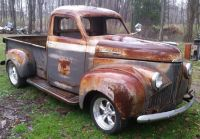 1948 Studebaker M5 Pick Up Truck Project C4 Suspension