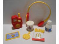 McDonald's Cash Register Replacement Accessories Pretend