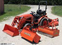 For Sale: Kubota B2301 HSD 4WD Tractor w/Implements